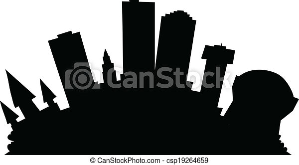 cartoon new orleans cartoon skyline silhouette of the city rh canstockphoto com new orleans jazz clip art new orleans clip art borders