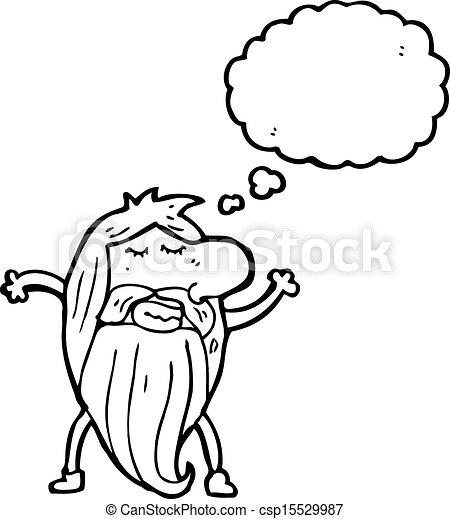 cartoon nude hippie man vector search clip art illustration rh canstockphoto ca