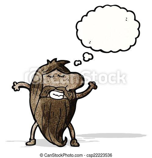 cartoon nude hippie man vectors search clip art illustration rh canstockphoto ie