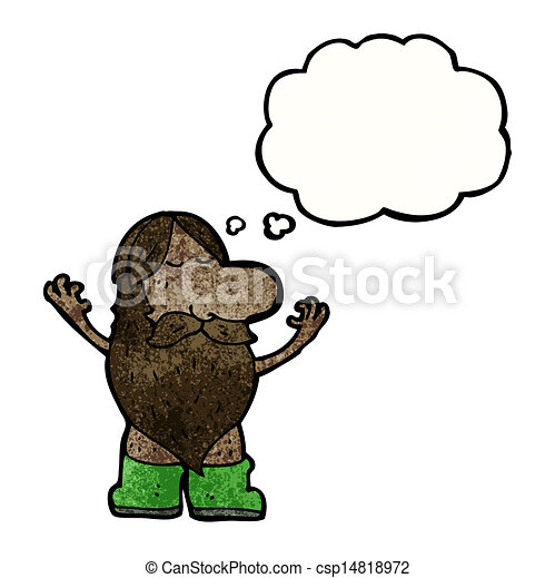 cartoon nude hippie man vectors illustration search clipart rh canstockphoto com