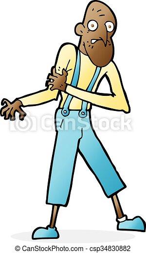 cartoon old man having heart attack vector search clip art rh canstockphoto ca heart attack clipart heart attack clip art for african americans