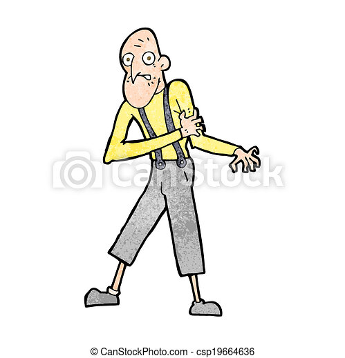 cartoon old man having heart attack vectors search clip art rh canstockphoto com heart attack clipart free
