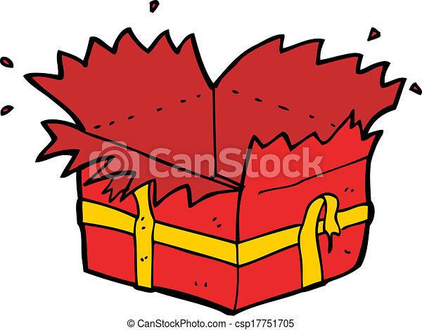 open present clipart. cartoon open present clipart i