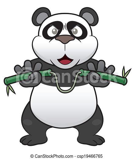 Cartoon panda - csp19466765