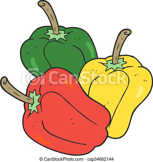 freehand drawn cartoon peppers eps vector search clip art rh canstockphoto com papers clip art peppers clipart