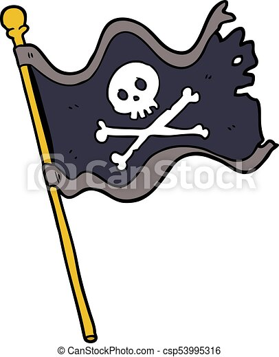 cartoon pirate flag rh canstockphoto com  pirate flag clipart black and white