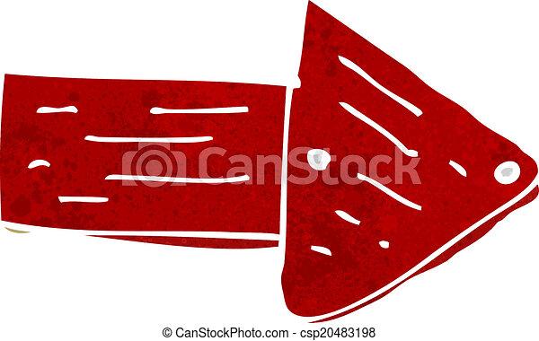 Cartoon Pointing Arrow Symbol Eps Vectors Search Clip Art