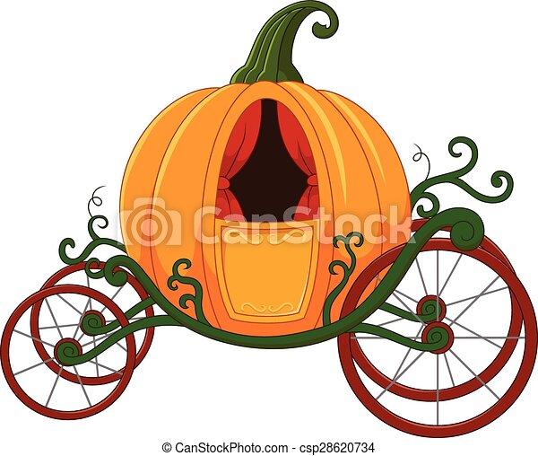 vector illustration of cartoon pumpkin carriage vectors search rh canstockphoto com carriage clipart black and white carriage clipart black and white