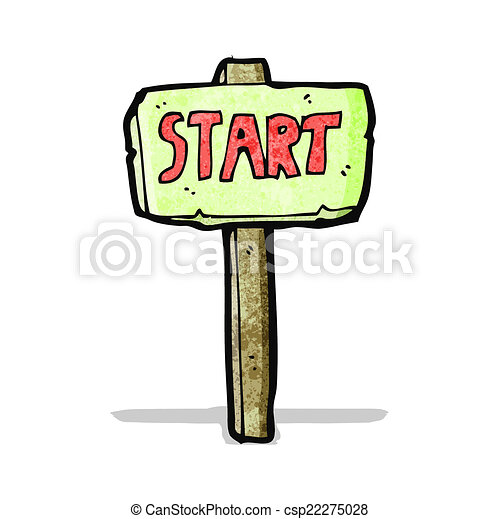cartoon race start sign vector illustration search clipart rh canstockphoto com star clip art images stars clipart free
