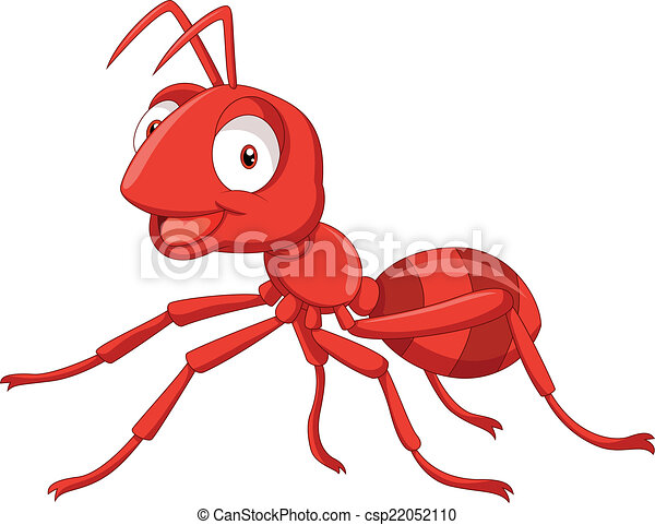 cartoon red ant - csp22052110