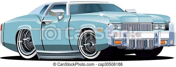 Cartoon retro car - csp30506186