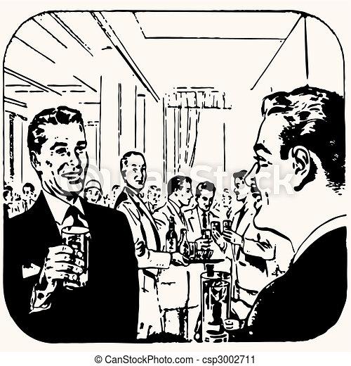 Cartoon Retro Vintage Cocktail Vector Clip Art Csp on Smiling Lips Clip Art