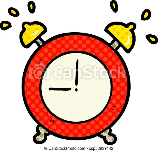 cartoon ringing alarm clock eps vector search clip art rh canstockphoto com  alarm clock ringing clipart