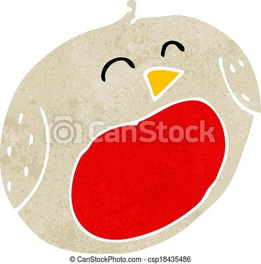 cartoon robin - csp18435486