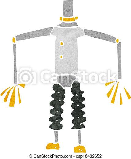 cartoon robot body (mix and match cartoons or add own photos) - csp18432652