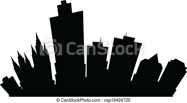 Cartoon Salt Lake City - csp19424720