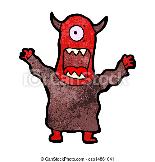 cartoon scary monster eps vector search clip art illustration rh canstockphoto ca scary clipart scary clipart gif