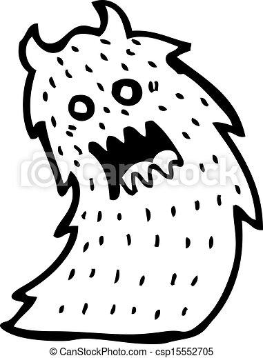 Art Scary Monster Sketch