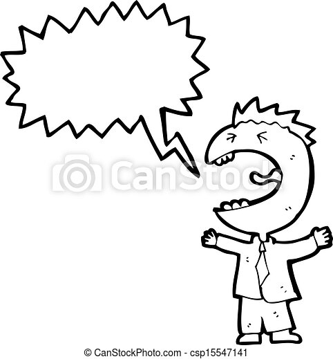 Teacher Yelling At Student Clipart