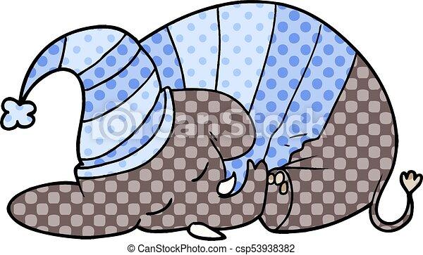 cartoon sleeping elephant in pajamas vector search clip art rh canstockphoto com pajamas clip art free pajamas clip art image