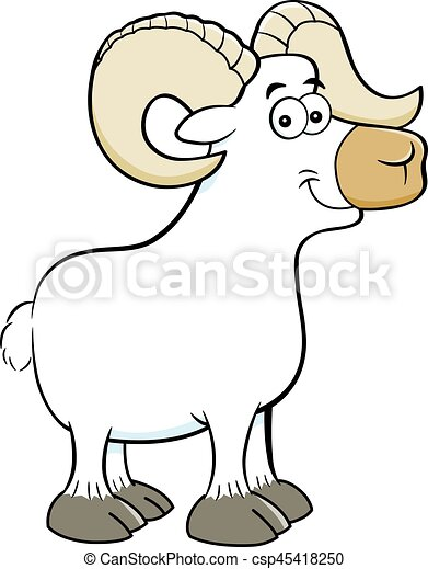 cartoon smiling ram cartoon illustration of a smiling ram clipart rh canstockphoto com ram clip art ram clip art