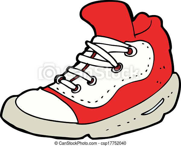 cartoon sneaker eps vector search clip art illustration drawings rh canstockphoto com sneaker vector icon speaker vector