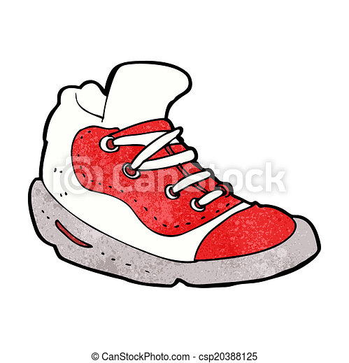 cartoon sneaker vector illustration search clipart drawings and rh canstockphoto com sneaker vector icon sneaker vector art