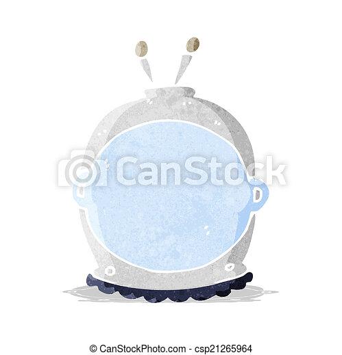 cartoon space helmet - csp21265964