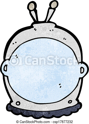 cartoon space helmet - csp17877232