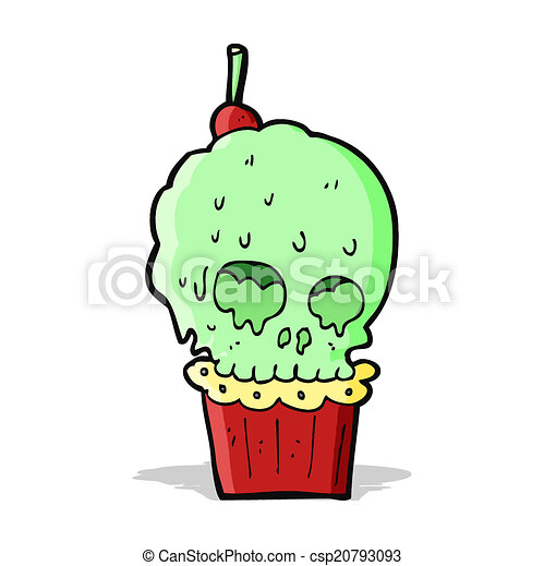 cartoon spooky skull cupcake eps vectors search clip art rh canstockphoto ca spooky clipart ghost spooky clipart ghost