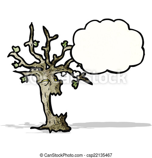 cartoon spooky tree clip art vector search drawings and graphics rh canstockphoto com  free spooky tree clipart