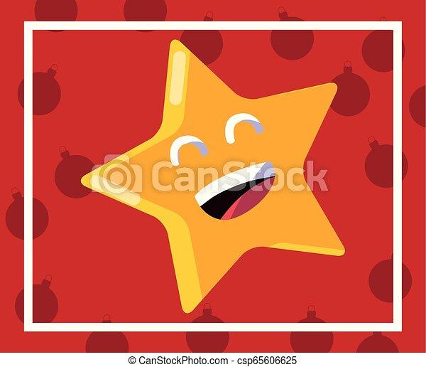 cartoon star icon - csp65606625