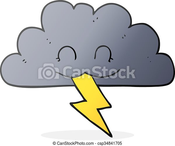 freehand drawn cartoon storm cloud vector clipart search rh canstockphoto com cartoon character with storm cloud Mean Cartoon Storm Clouds