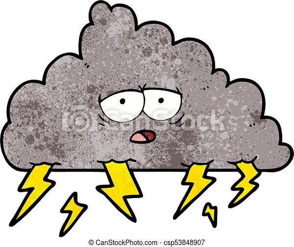 cartoon storm cloud vector clipart search illustration drawings rh canstockphoto com cartoon thunderstorm clouds Mean Cartoon Storm Clouds
