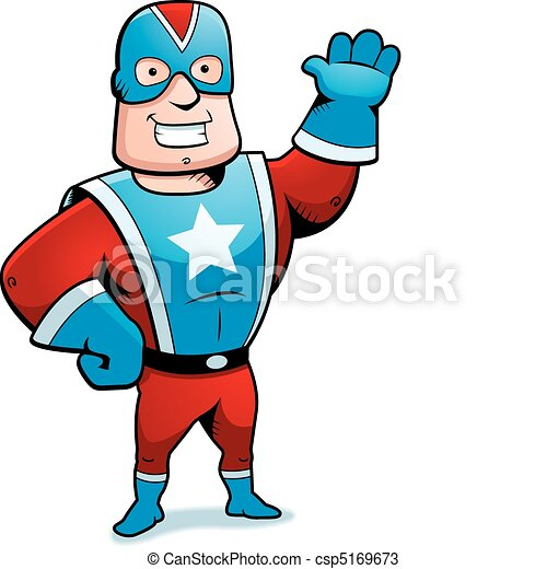 Cartoon Superhero - csp5169673