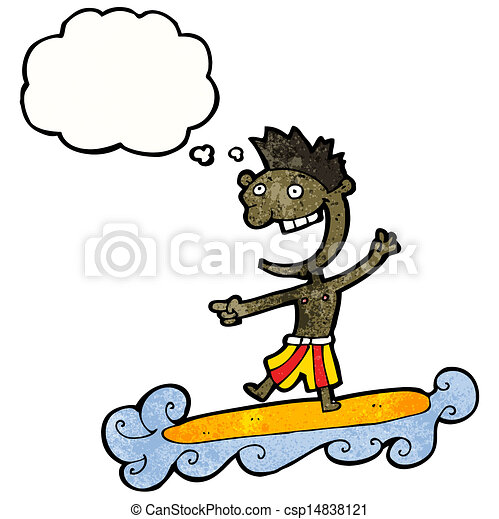 cartoon surfer dude vector illustration search clipart drawings rh canstockphoto com Animated Surfer Cartoon Surfer