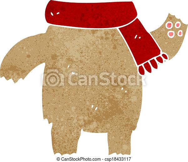 cartoon teddy bear body (mix and match or add own photos) - csp18433117