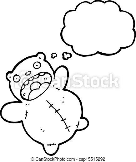 cartoon teddy bear - csp15515292