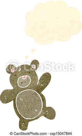 cartoon teddy bear - csp15047844