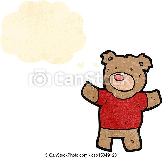 cartoon teddy bear - csp15049120