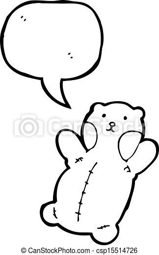cartoon teddy bear - csp15514726