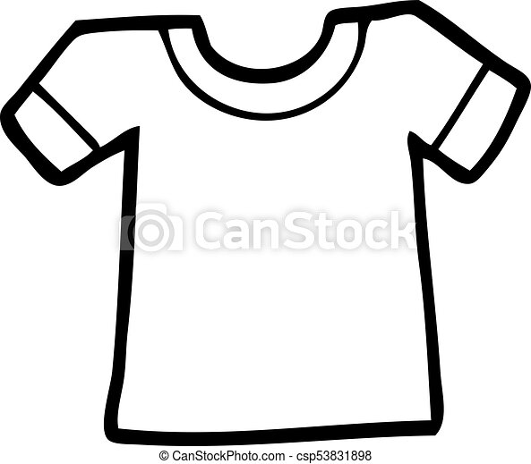 cartoon tee shirt eps vectors search clip art illustration rh canstockphoto com white t shirt clipart t-shirt clipart free