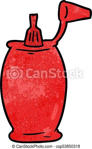 cartoon tomato ketchup bottle vector clip art search illustration rh canstockphoto com clipart ketchup bottle ketchup clipart