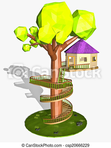 Cartoon Tree House Isolated On White Background Canstock Lovepik provides 370000+ cartoon tree house photos in hd resolution that updates everyday, you can free download for both personal and commerical use. can stock photo