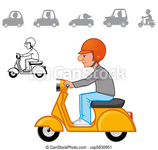 Cartoon vehicles series - csp5830951