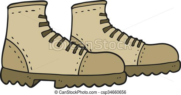 Walking Boots Cartoon Pictures
