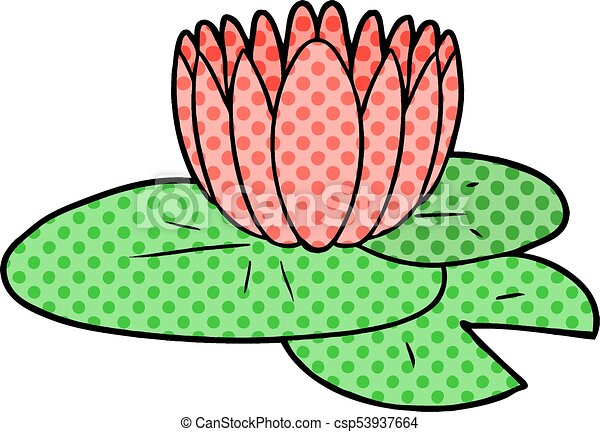 cartoon water lily clip art vector search drawings and graphics rh canstockphoto com water lily clipart free