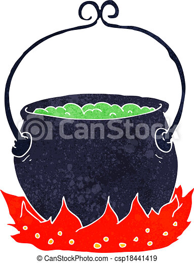 cartoon witch s cauldron vector clip art search illustration rh canstockphoto com witches cauldron clipart free cauldron clipart free