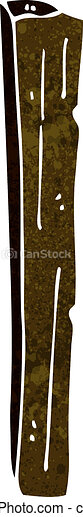 Wooden Post Stock Illustrations 57437 Wooden Post Clip Art Images