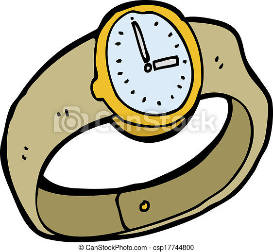cartoon wrist watch vector clipart search illustration drawings rh canstockphoto com watch victoria's secret watch victorious online free